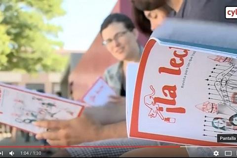 Revista infantil ¡La leche! en RadioTV Castilla y León