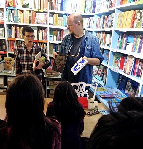 Taller con Alain Regnier en La Mar de Letras