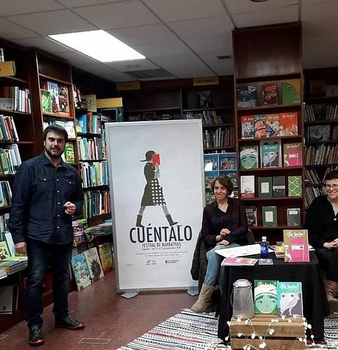 Festival Cuéntalo en Logroño en librería Cerezo