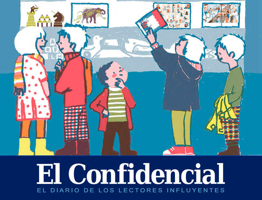 Revista infantil ¡La leche! en El Confidencial